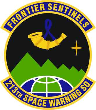 Clear Air Force Station - Image: 213th Space Warning Squadron Emblem