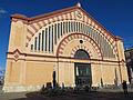 249 Mercat municipal de Tortosa, façana de la plaça de Barcelona.JPG