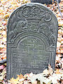 251012 Detail of tombstones at Jewish Cemetery in Warsaw - 42.jpg