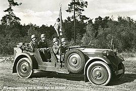 27083-Meißen-1937-Standartenwagen der II. Abteilung Artillerie-Regiment Nr. 40-Brück & Sohn Kunstverlag.jpg