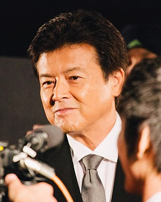 Tomokazu Miura - Image: 27th Tokyo International Film Festival Tomokazu Miura from Until The Day Comes