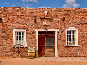 Ganado, Arizona - Hubbell Trading Post National Historic Site