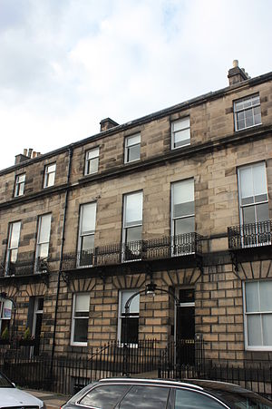 Thomas Maitland, Lord Dundrennan - 31 Melville Street, Edinburgh, where Maitland died