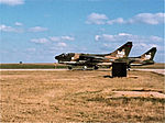 353d Tactical Fighter Squadron A-7Ds at EOR ready for takeoff at Tinker AFB, OK.jpg