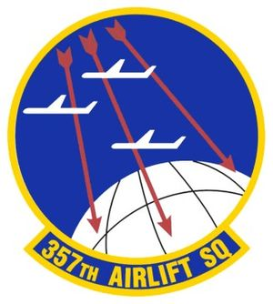 357th Airlift Squadron - 357th Airlift Squadron Patch