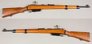 35M rifle - 35M Rifle. From the Swedish Army Museum.