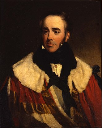 Robert Jocelyn, 3rd Earl of Roden - The 3rd Earl of Roden, painted by Frederick Richard Say, c. 1830.