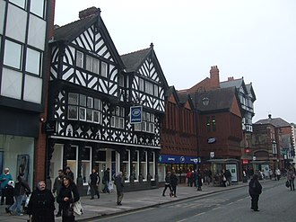 Grade II listed buildings in Chester (east) - Image: 45 and 47 Foregate Street, Chester