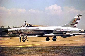 563d Flying Training Squadron - 563d TFS Republic F-105D-31-RE Thunderchief 62-4386 at Yokota AB Japan 1965