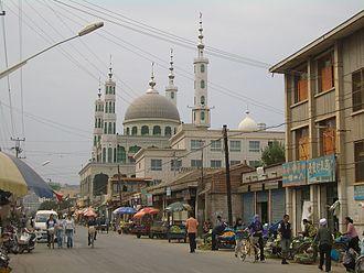 Linxia Hui Autonomous Prefecture - Qianheyan Mosque, Linxia City