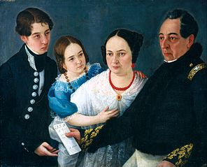 Family of General Don Felipe Codallos