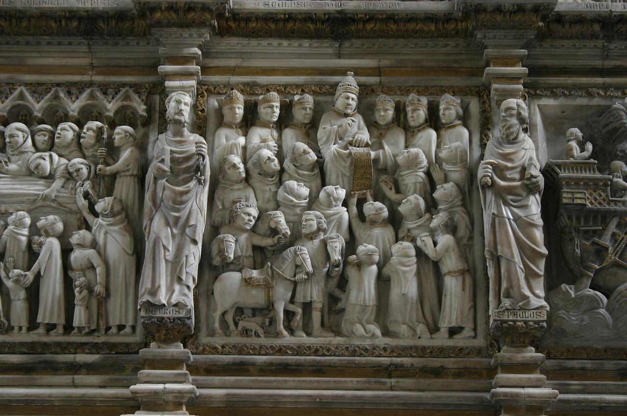 6235 - Milano - Sant'Eustorgio - Arca di S. Pietro Martire - Foto Giovanni Dall'Orto 1-Mar-2007.jpg