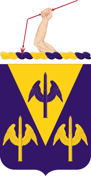 63rd Coast Artillery (United States) - Coat of arms