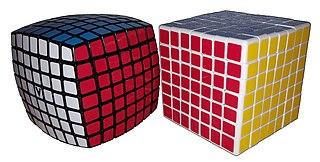V-Cube 7 7×7×7 version of Rubiks Cube