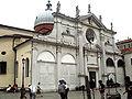 7269 - Venezia - Mauro Codussi, Santa Maria Formosa - Facciata laterale con cenotafi dei Cappello - Foto Giovanni Dall'Orto, 10-Aug-2007.jpg