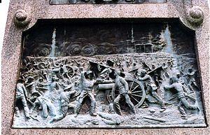 Alexander Milne Calder - Image: 73rd PA Infantry Monument