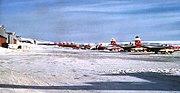 74th Fighter-Interceptor Squadron F-89s Thule 1955