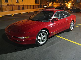 Ford Probe - Image: 94Probe GT red