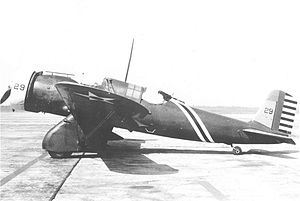 3d Operations Group - Curtiss A-12 Shrike Serial 33-229 of the 13th Attack Squadron.