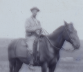 A. G. Leonard on horseback in North Dakota.png