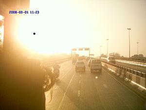 Inner Ring Road, Delhi - Image: AIIMS Flyover 04