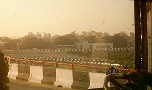 Inner Ring Road, Delhi - Image: AIIMS Flyover 06