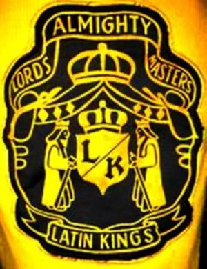 Latin Kings (gang) - Latin Kings Sweater Patch