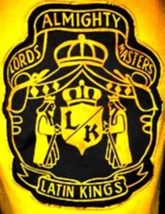 King Tone - Latin Kings patch