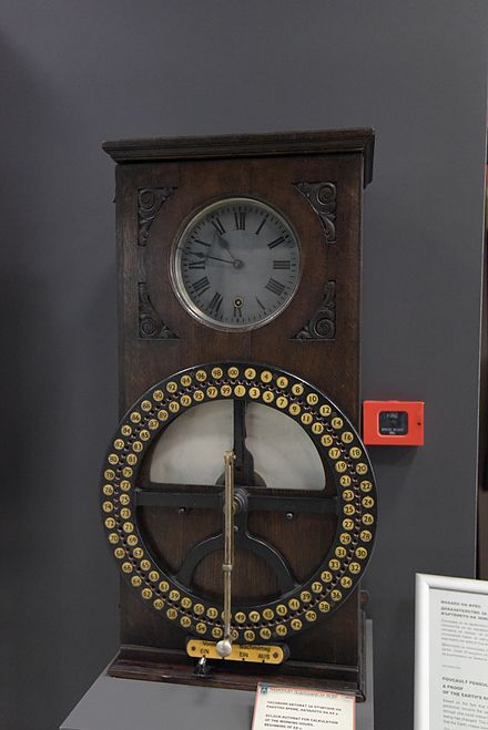 A clock-based device for recording workers' working hours, from the beginning of 20 century. Exhibit of the National Polytechnical Museum in Sofia, Bulgaria ATG - NPTM Photothon 53.jpg