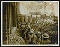 A communication trench through a French village., Bestanddeelnr 158-1315.jpg