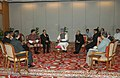 A delegation of Minister for Foreign Affairs from BIMSTEC countries meeting with the Prime Minister, Dr. Manmohan Singh, in New Delhi on August 29, 2008.jpg