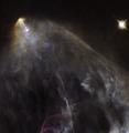 A glowing jet from a young star.tif