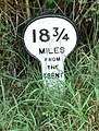 A mile marker along the Grantham Canal - geograph.org.uk - 950385.jpg