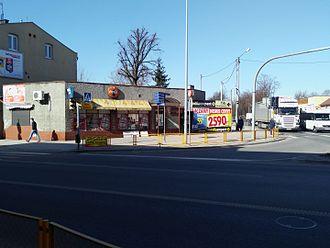 Streetcorner - A street-corner in Tomaszów Mazowiecki, Poland