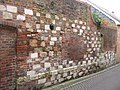 A wall with a history of repairs - geograph.org.uk - 1163193.jpg