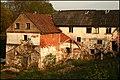 Abandoned watermill near Padure manor - panoramio.jpg