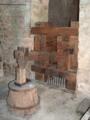 Abbaye de Fontenay marteau pilon dans la forge.png