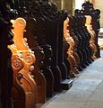 Abbey church Maulbronn choir stalls.JPG