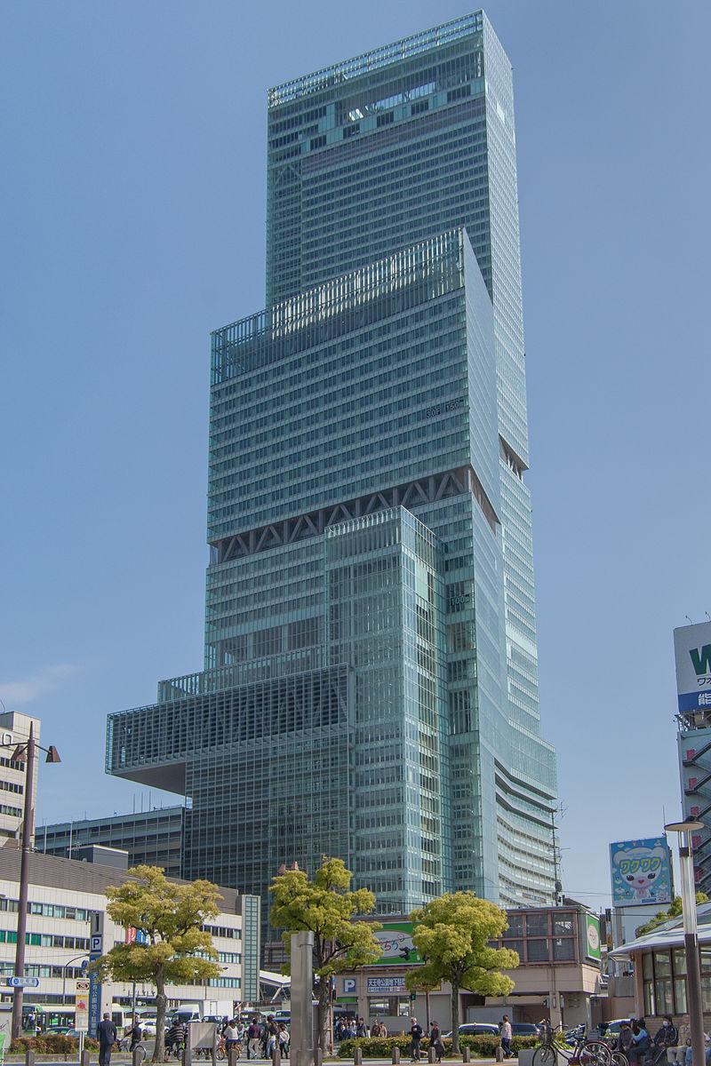 Abeno Harukas construction site 20130503-001.jpg