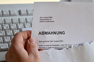 Abmahnung Deutsches Arbeitsrecht Wikipedia