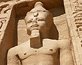 Abu Simbel temple queen guard statue.jpg