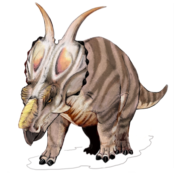 Achelousaurus dinosaur.png