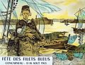Achille Granchi-Taylor Affiche pour la Fête des Filets bleus 1906.jpg