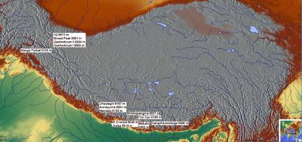 Sommets de plus de huit mille mètres — Wikipédia