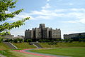 Across Wing and Quince Stadium (Ritsumeikan University, Japan).JPG
