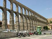 Acueducto de Segovia (provincia de Segovia).