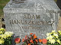 Adam Hanuszkiewicz - grave 1.jpg