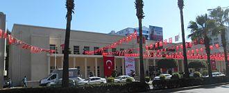 Adana Metropolitan Theatre - Image: Adana Metropolitan Hall (wide view)