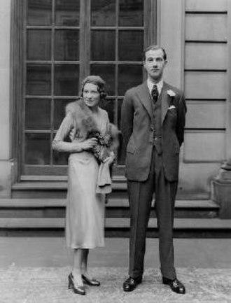 Lord Charles Arthur Francis Cavendish - Adele and Charles Cavendish (1932)