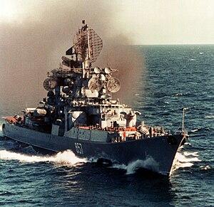 БПК «Адмирал Юмашев», 1 мая 1982 года